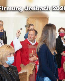 Zu den Fotos der Firmung Jenbach 2020