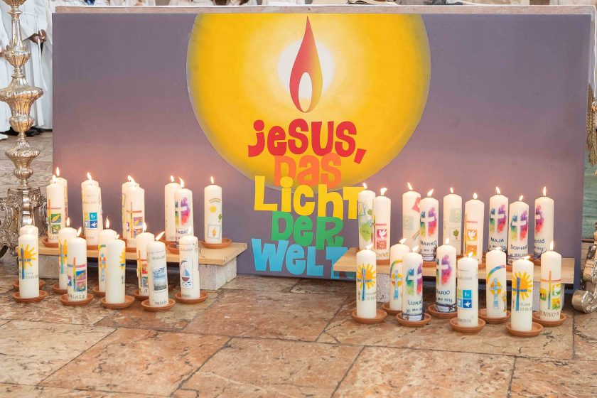 Fotos der Erstkommunion Jenbach 2019