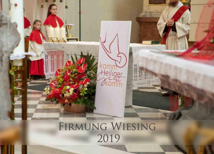 Fotos der Firmung Wiesing 2019