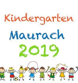 Kindergartenfotos Maurach 2019