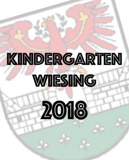 Kindergarten Wiesing 2018