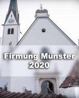 Zu den Fotos der Firmung Münster 2020