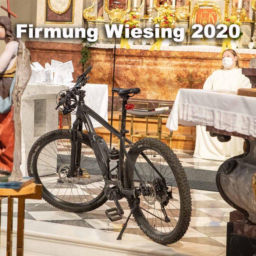 Zu den Fotos der Firmung Wiesing 2020
